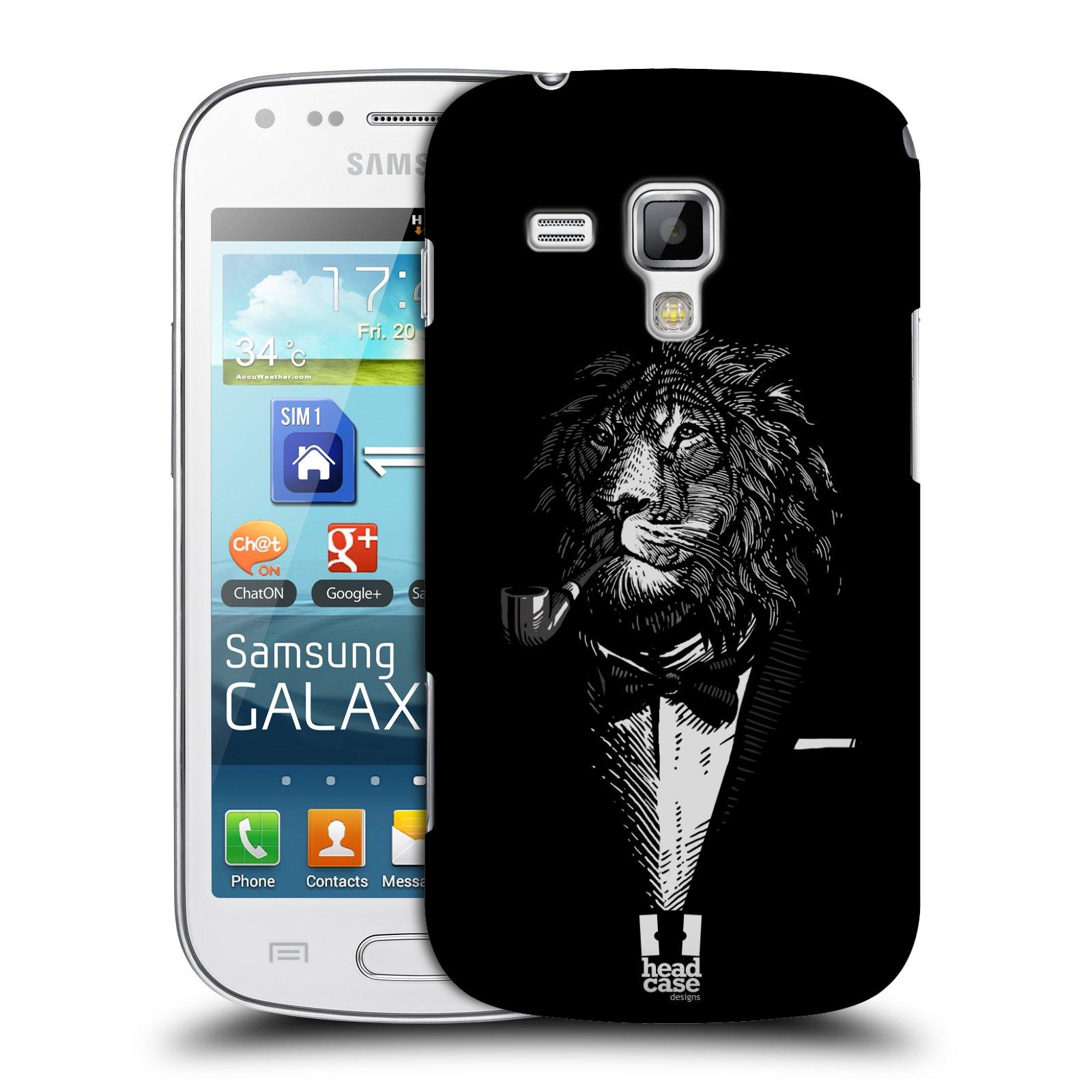 Plastové pouzdro na mobil Samsung Galaxy Trend HEAD CASE LEV V KVÁDRU (Kryt či obal na mobilní telefon Samsung Galaxy Trend GT-S7560)