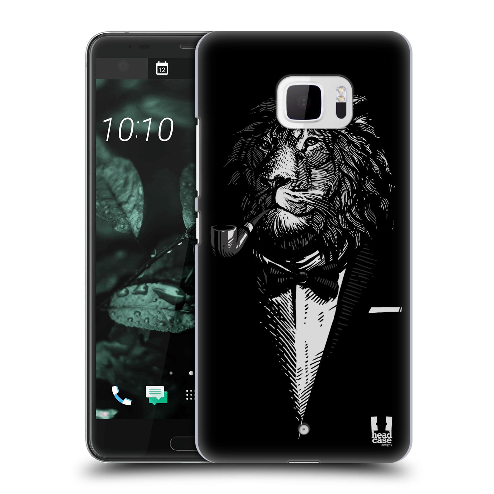 Plastové pouzdro na mobil HTC U Ultra Head Case - LEV V KVÁDRU (Plastový kryt či obal na mobilní telefon HTC U Ultra (99HALT015-00))