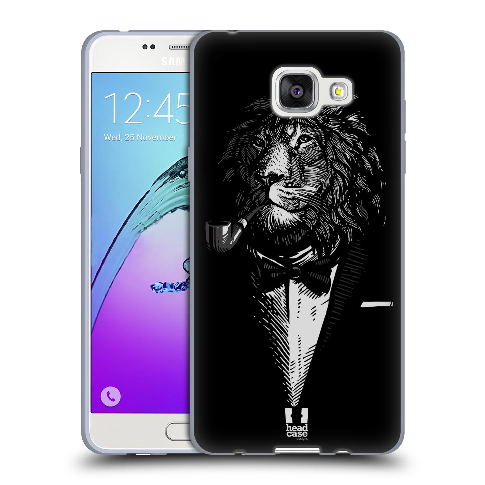 4da972f51 Silikonové pouzdro na mobil Samsung Galaxy A5 (2016) HEAD CASE LEV V KVÁDRU