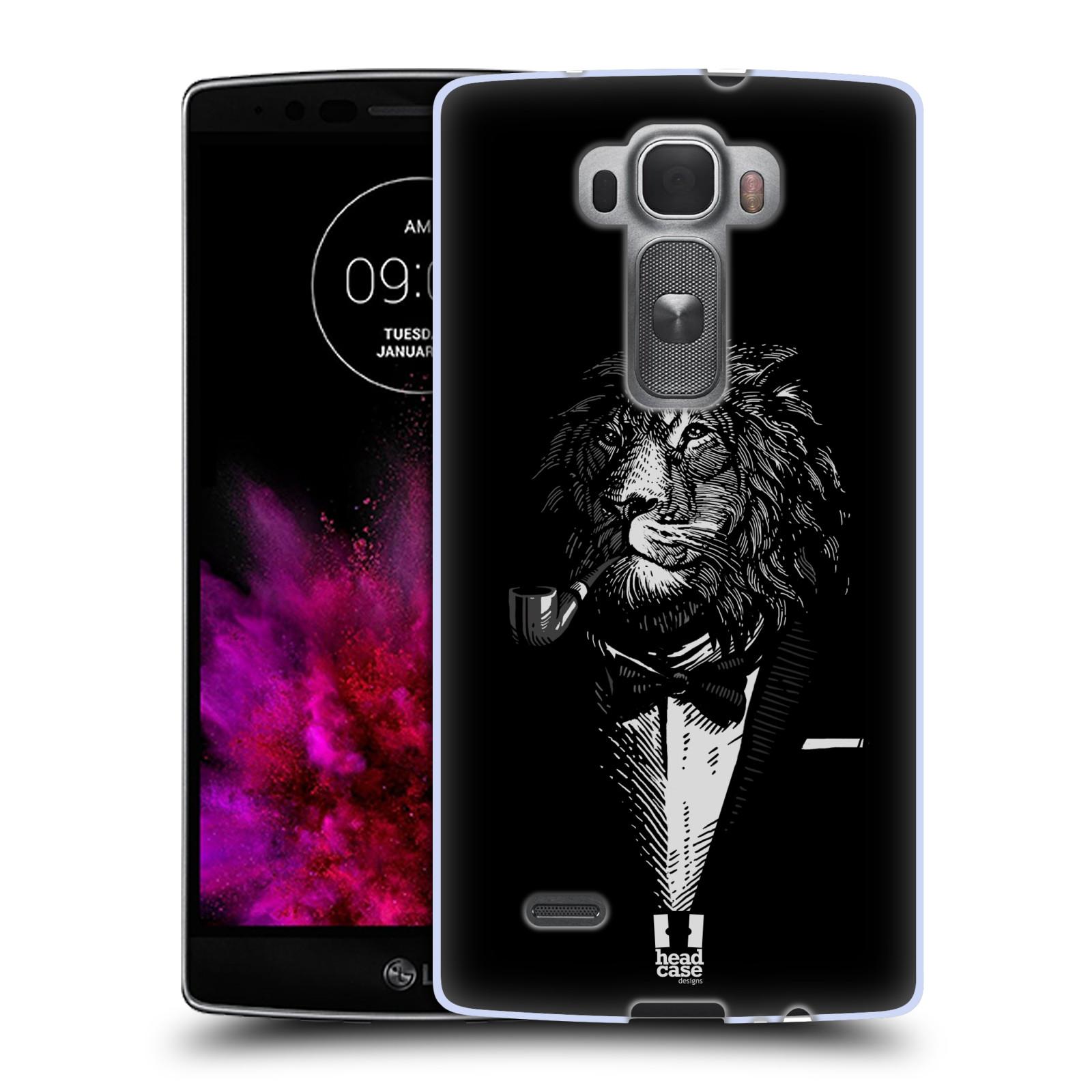 Silikonové pouzdro na mobil LG G Flex 2 HEAD CASE LEV V KVÁDRU (Silikonový kryt či obal na mobilní telefon LG G Flex 2 H955)