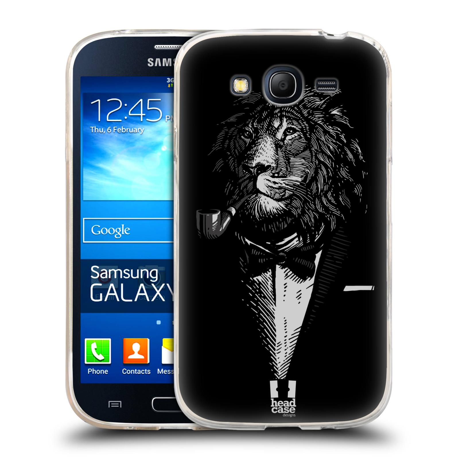 Silikonové pouzdro na mobil Samsung Galaxy Grand Neo Plus HEAD CASE LEV V KVÁDRU (Silikonový kryt či obal na mobilní telefon Samsung Galaxy Grand Neo Plus Duos GT-I9060i)