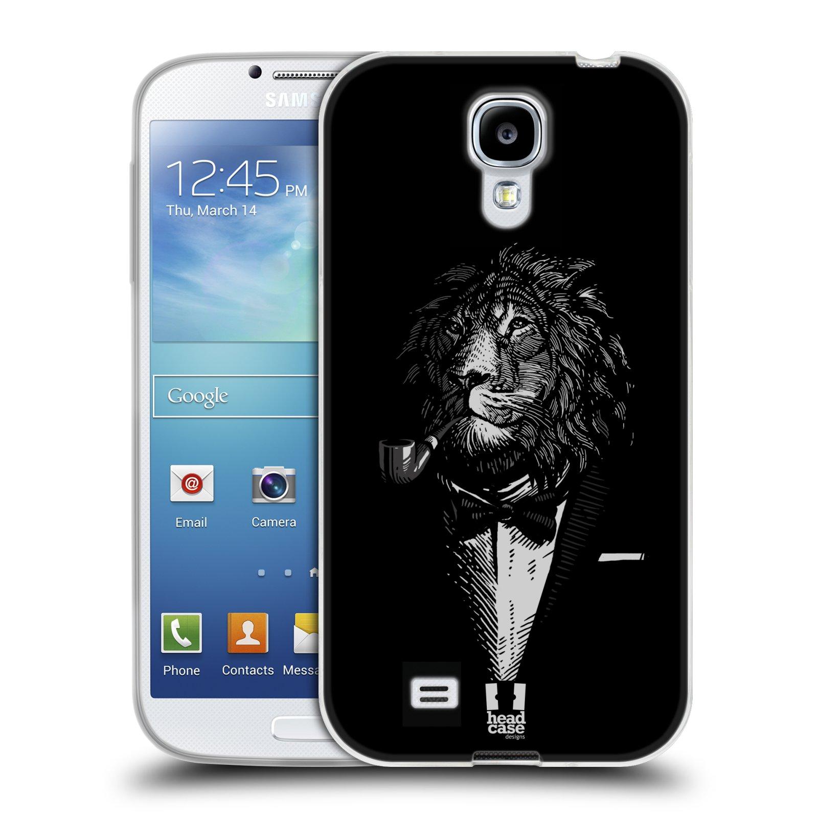 Silikonové pouzdro na mobil Samsung Galaxy S4 HEAD CASE LEV V KVÁDRU (Silikonový kryt či obal na mobilní telefon Samsung Galaxy S4 GT-i9505 / i9500)