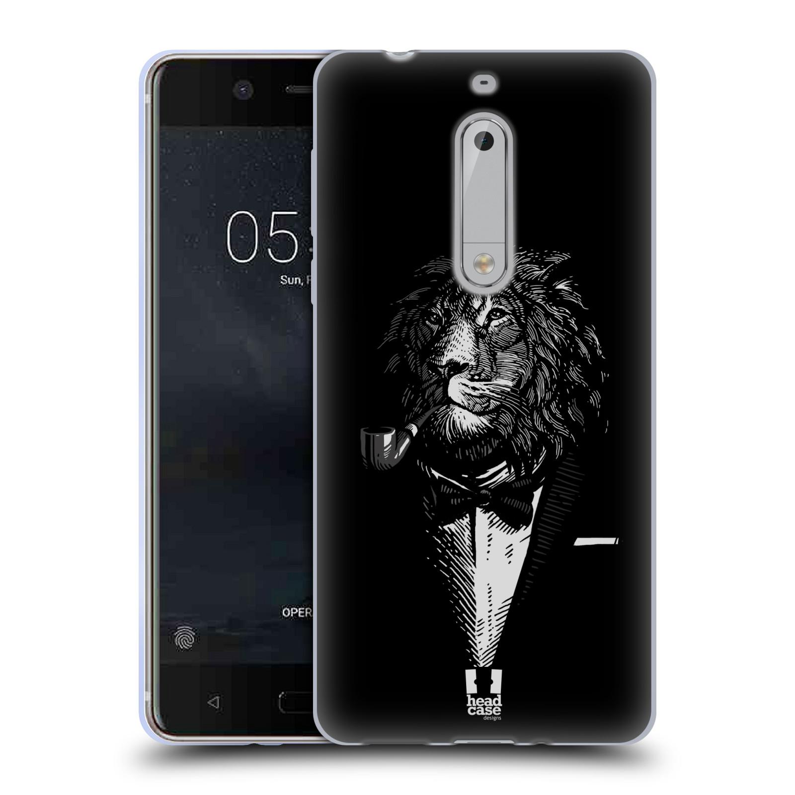 Silikonové pouzdro na mobil Nokia 5 Head Case - LEV V KVÁDRU