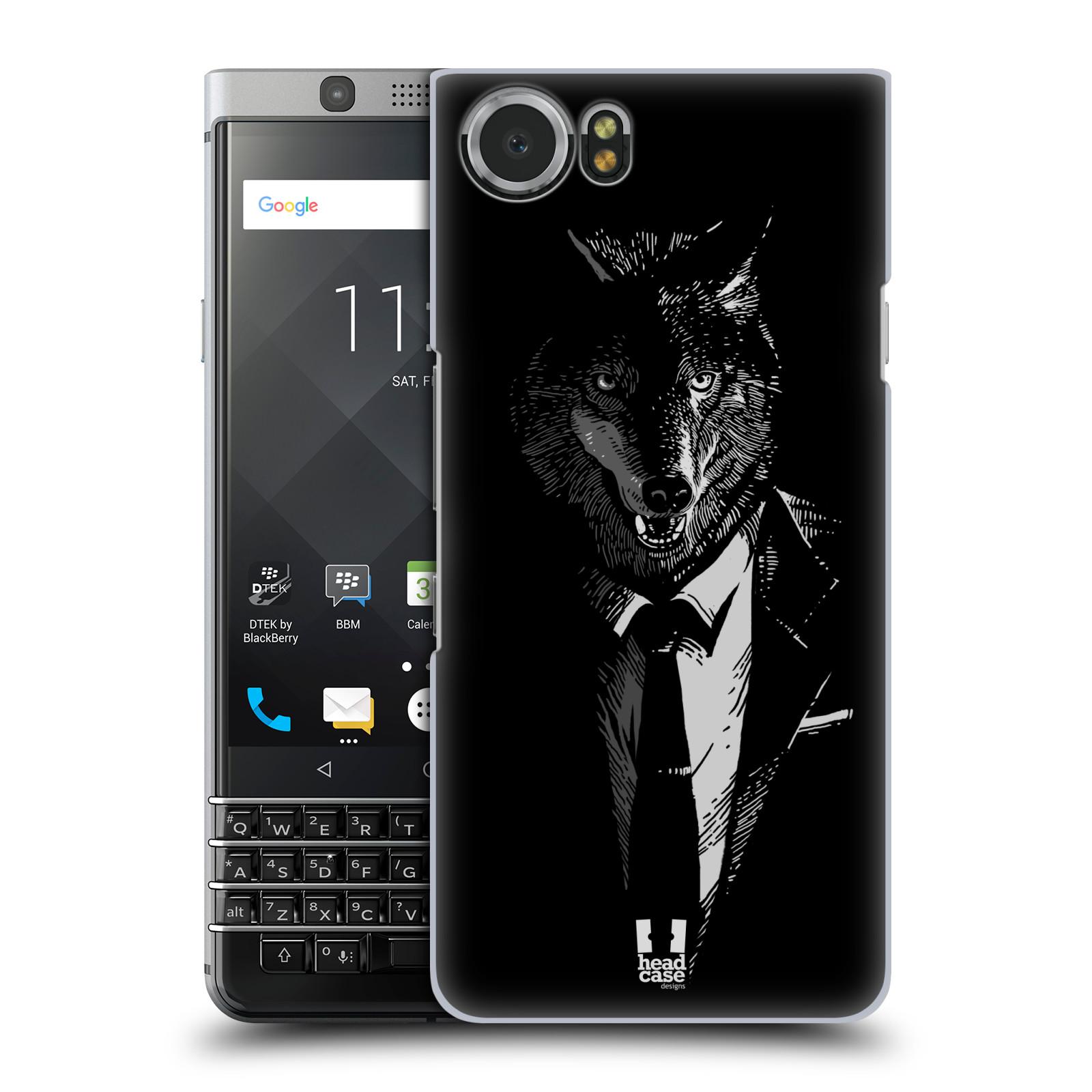Plastové pouzdro na mobil BlackBerry KEYone - Head Case - VLK V KVÁDRU
