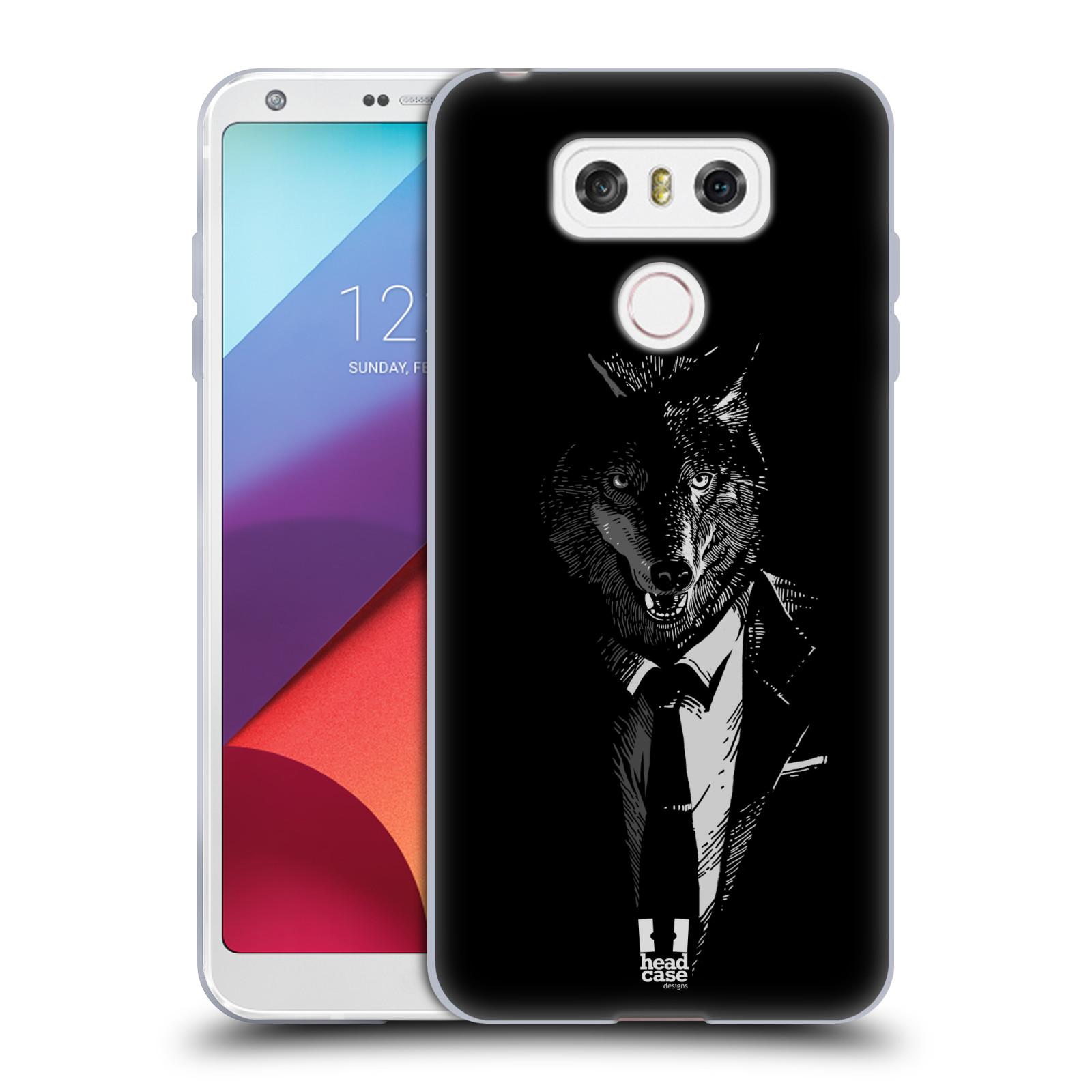 Silikonové pouzdro na mobil LG G6 - Head Case VLK V KVÁDRU (Silikonový kryt či obal na mobilní telefon LG G6 H870 / LG G6 Dual SIM H870DS)