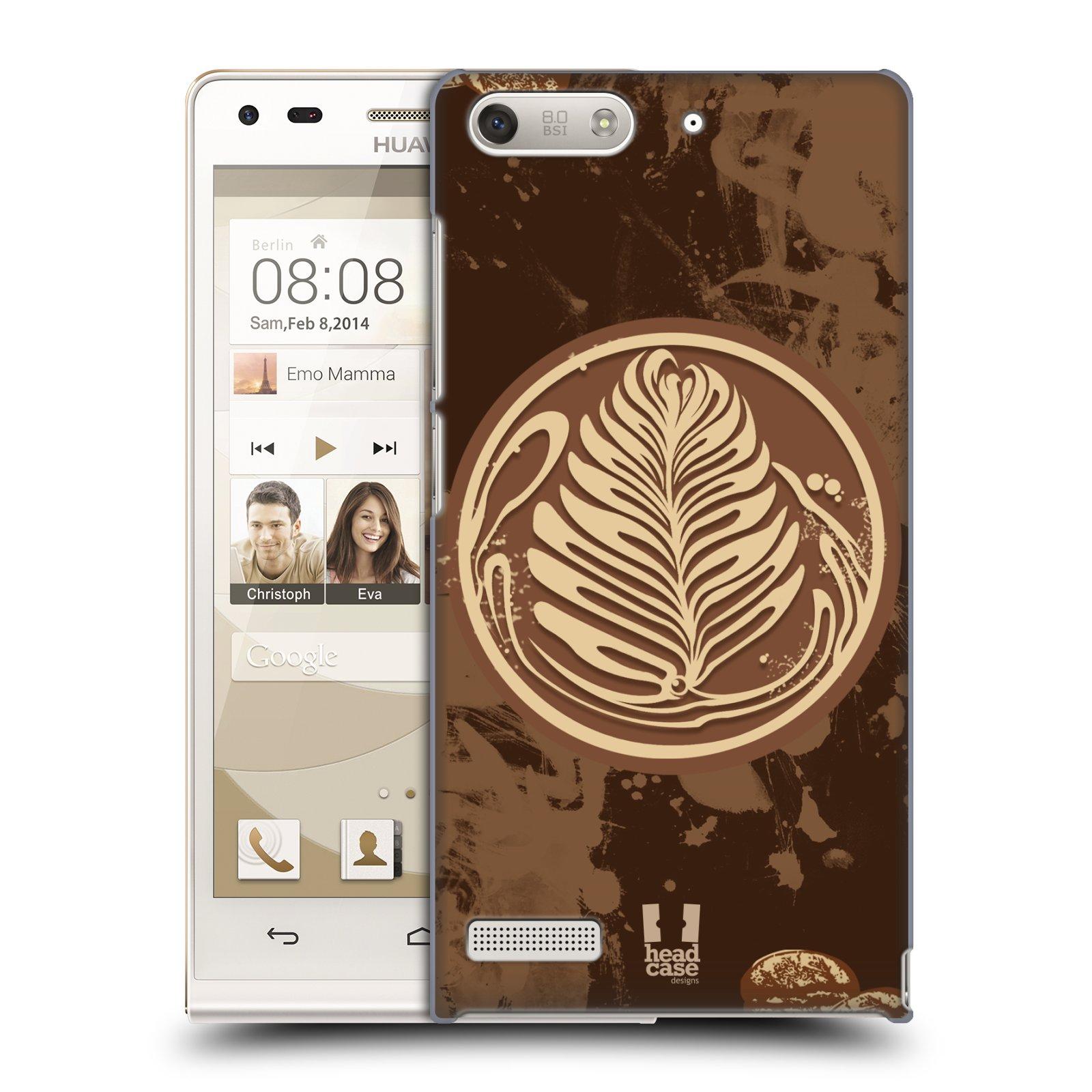 Plastové pouzdro na mobil Huawei Ascend G6 HEAD CASE Coffee Art (Kryt či obal na mobilní telefon Huawei Ascend G6 bez LTE)