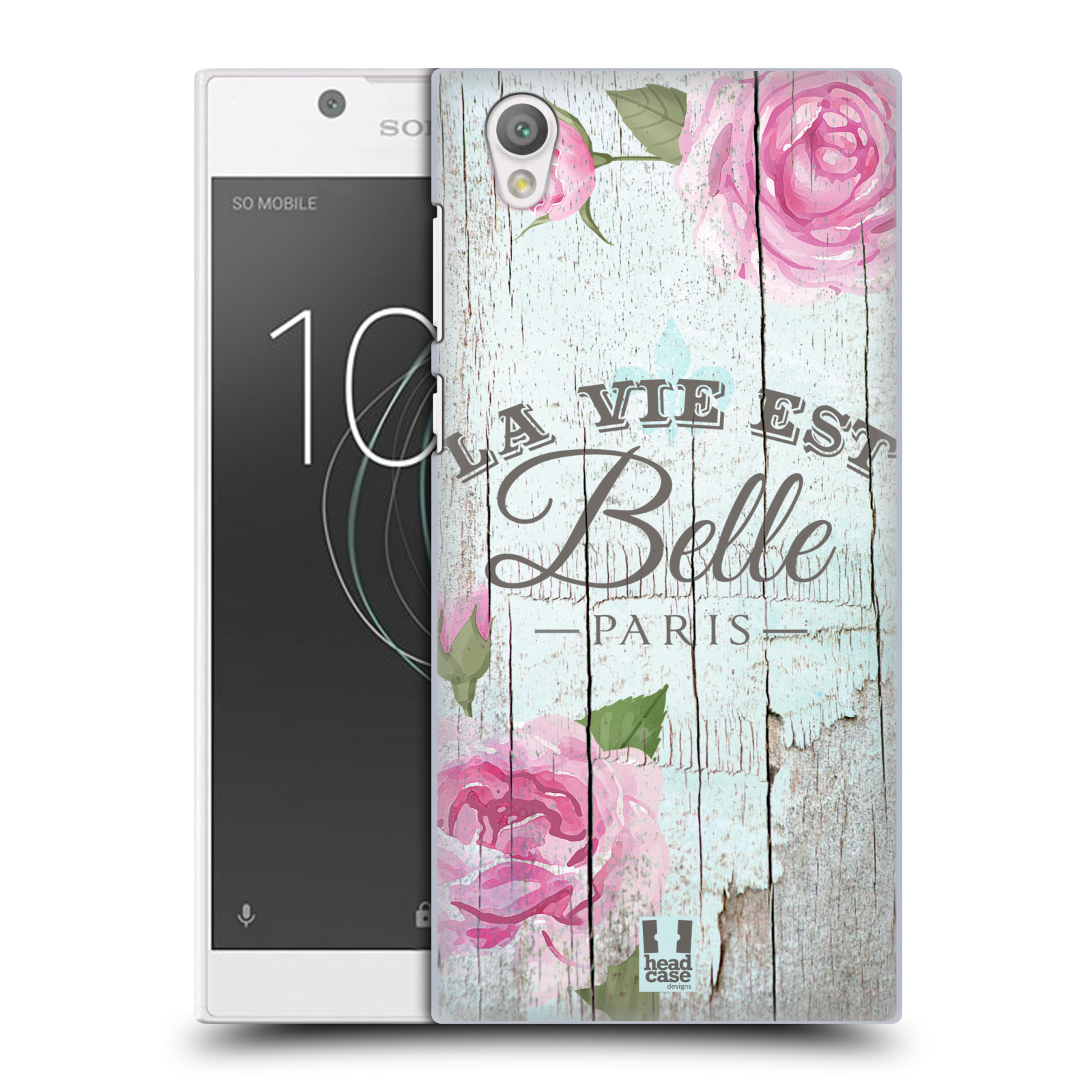 Plastové pouzdro na mobil Sony Xperia L1 - Head Case - LIFE IN THE COUNTRY BELLE