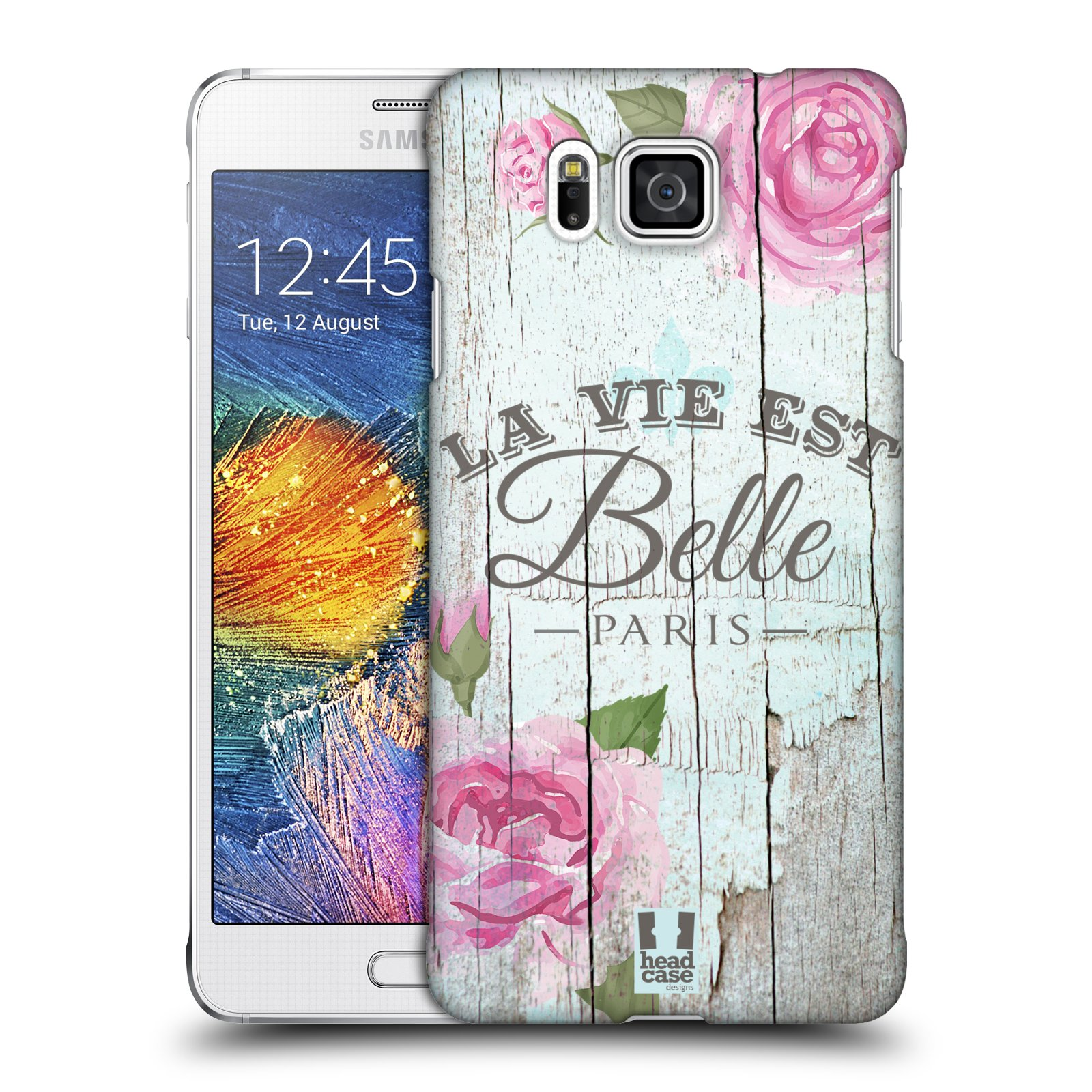 Plastové pouzdro na mobil Samsung Galaxy Alpha HEAD CASE LIFE IN THE COUNTRY BELLE