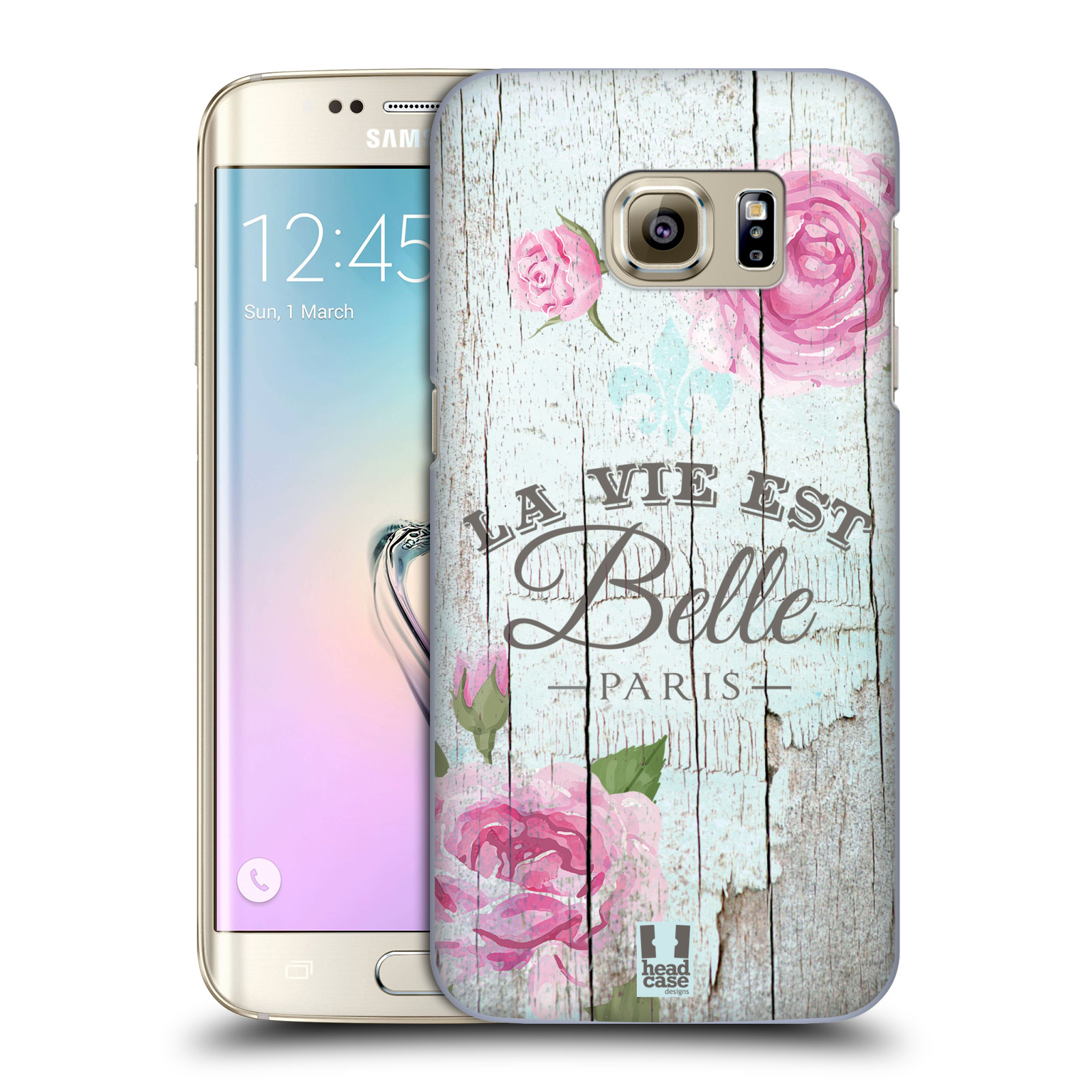 Plastové pouzdro na mobil Samsung Galaxy S7 Edge HEAD CASE LIFE IN THE COUNTRY BELLE (Kryt či obal na mobilní telefon Samsung Galaxy S7 Edge SM-G935F)