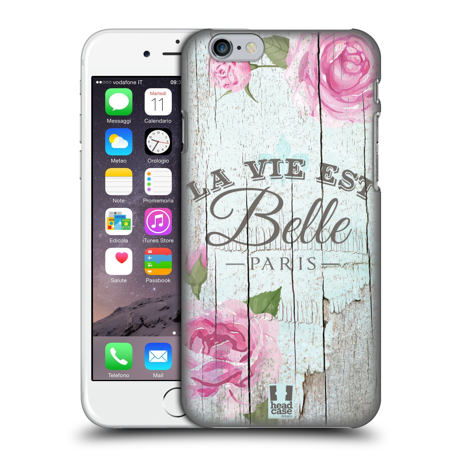 Plastové pouzdro na mobil Apple iPhone 6 a 6S HEAD CASE LIFE IN THE COUNTRY BELLE