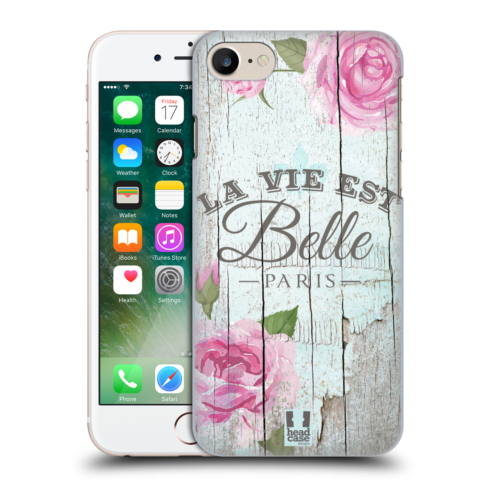 Plastové pouzdro na mobil Apple iPhone 7 HEAD CASE LIFE IN THE COUNTRY BELLE