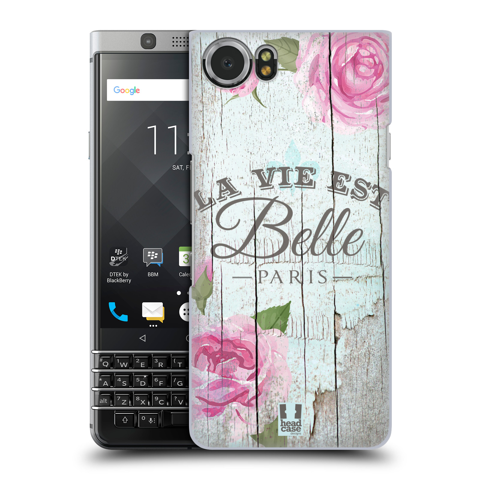 Plastové pouzdro na mobil BlackBerry KEYone - Head Case - LIFE IN THE COUNTRY BELLE