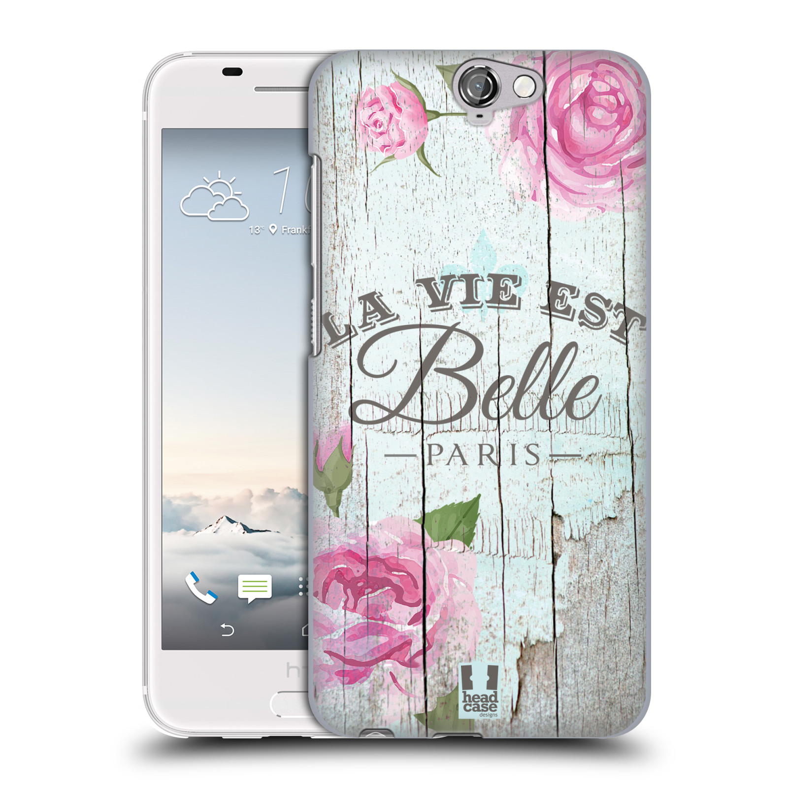 Plastové pouzdro na mobil HTC One A9 HEAD CASE LIFE IN THE COUNTRY BELLE