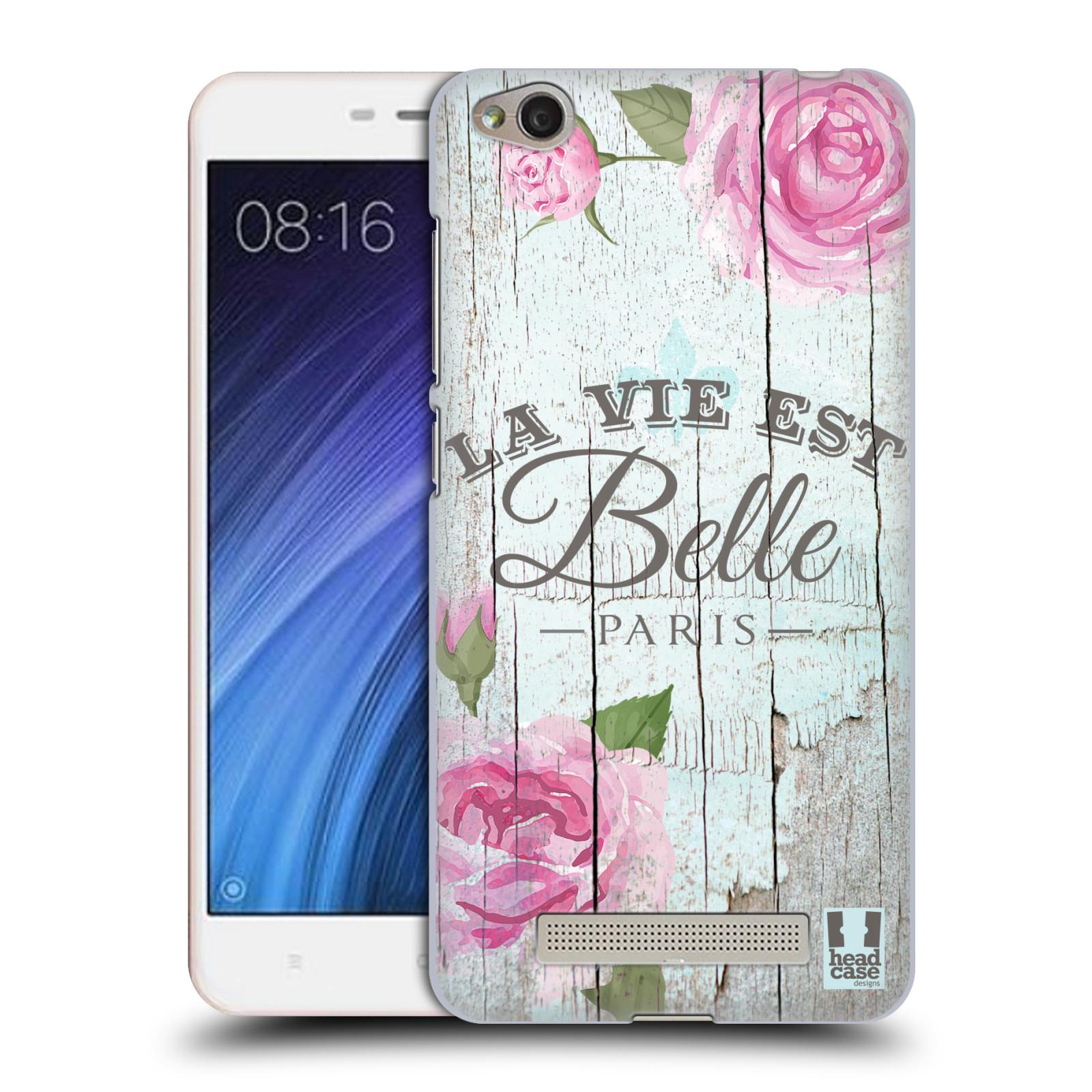 Plastové pouzdro na mobil Xiaomi Redmi 4A HEAD CASE LIFE IN THE COUNTRY BELLE