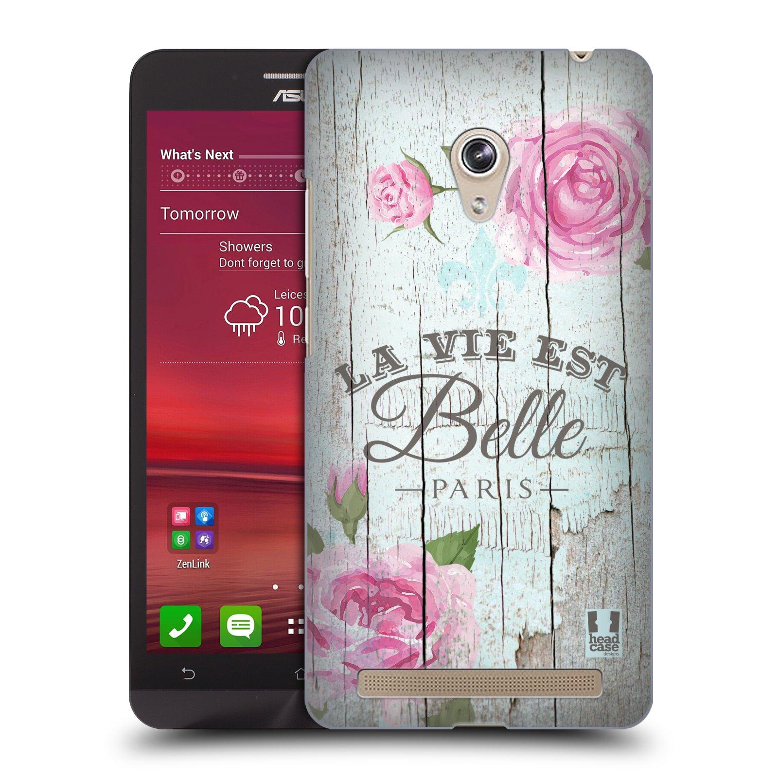 Plastové pouzdro na mobil Asus Zenfone 6 HEAD CASE LIFE IN THE COUNTRY BELLE (Kryt či obal na mobilní telefon Asus Zenfone 6 A600CG / A601CG)