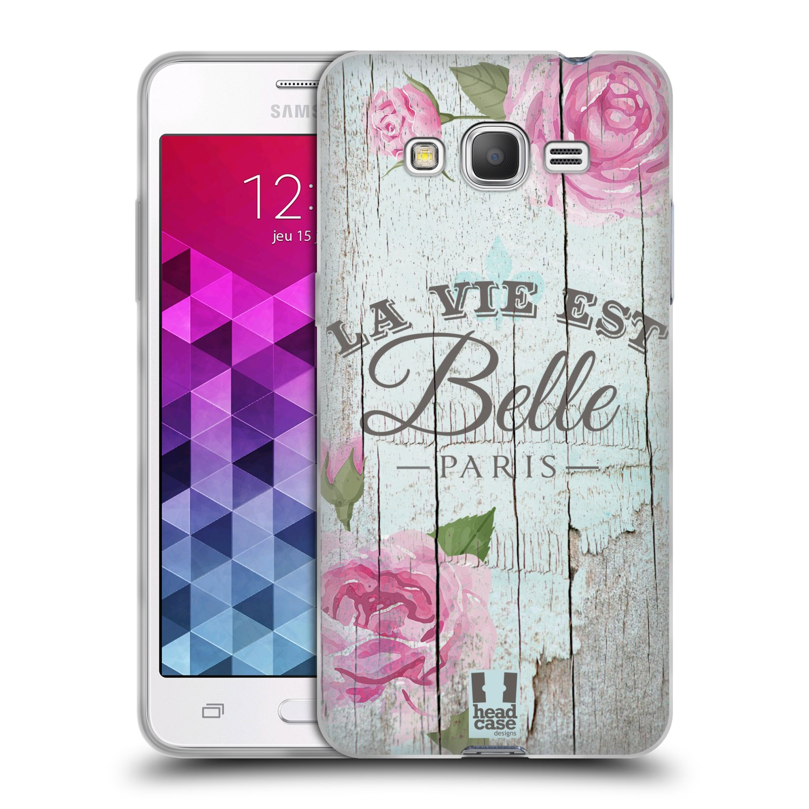 Silikonové pouzdro na mobil Samsung Galaxy Grand Prime HEAD CASE LIFE IN THE COUNTRY BELLE