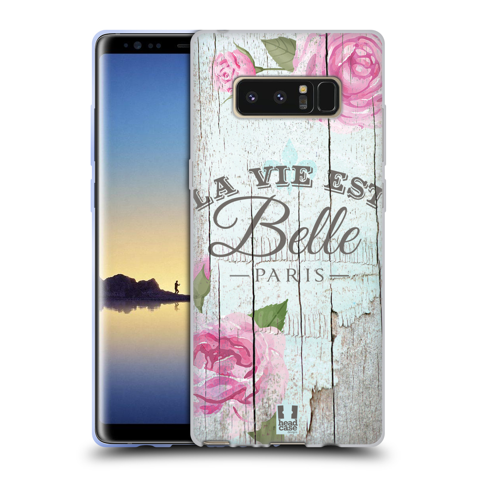 Silikonové pouzdro na mobil Samsung Galaxy Note 8 - Head Case - LIFE IN THE COUNTRY BELLE