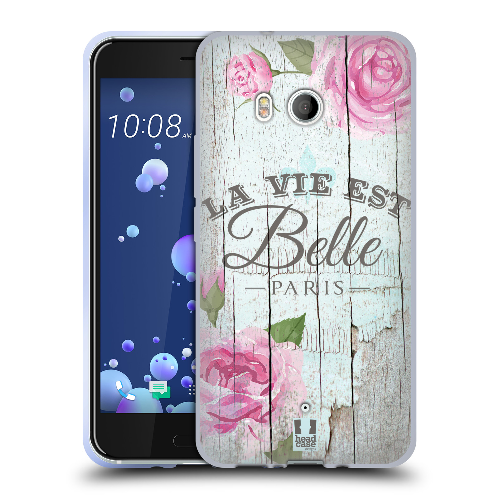 Silikonové pouzdro na mobil HTC U11 - Head Case - LIFE IN THE COUNTRY BELLE