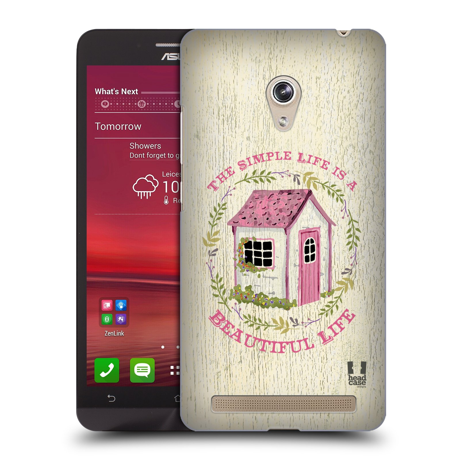 Plastové pouzdro na mobil Asus Zenfone 6 HEAD CASE LIFE IN THE COUNTRY COTTAGE (Kryt či obal na mobilní telefon Asus Zenfone 6 A600CG / A601CG)