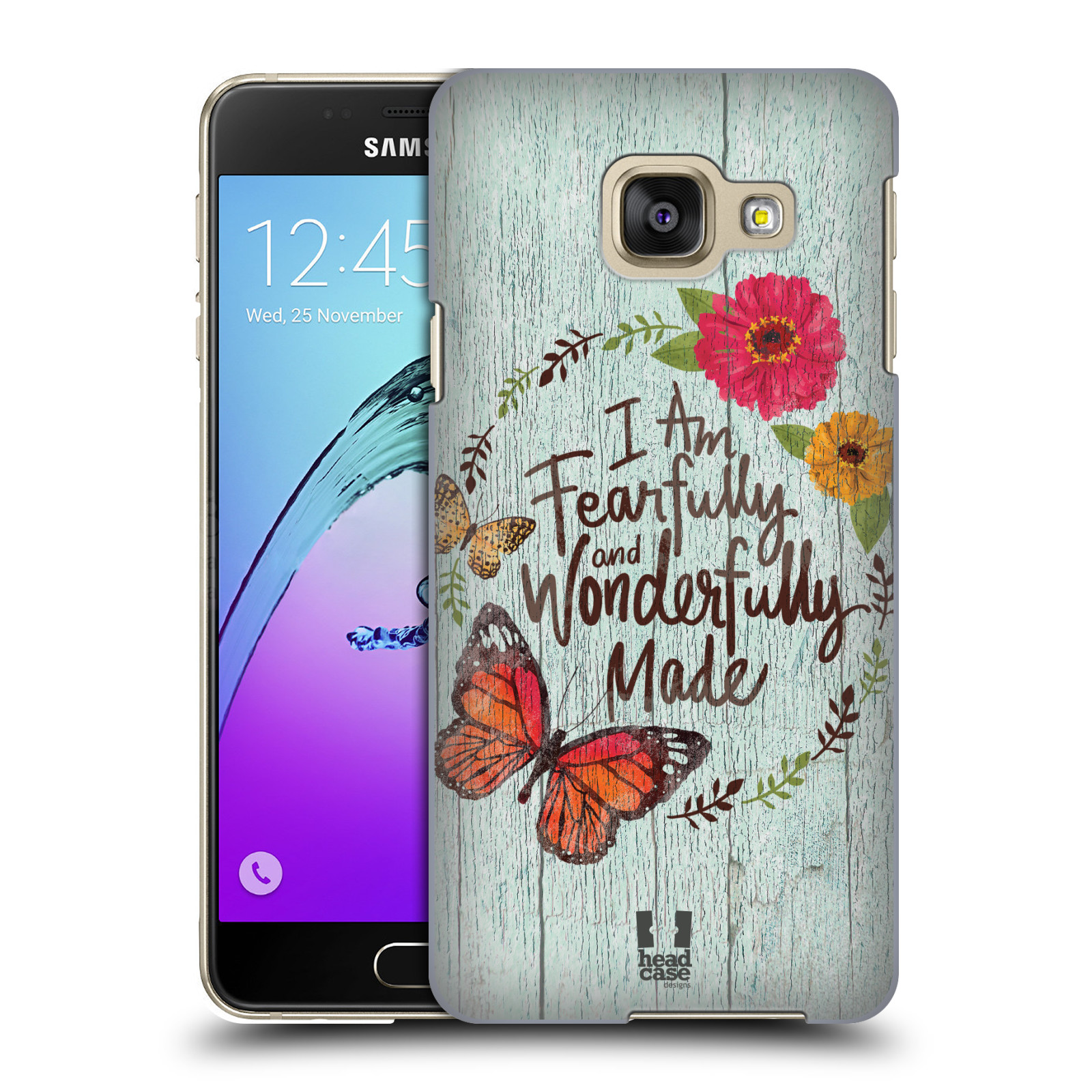 Plastové pouzdro na mobil Samsung Galaxy A3 (2016) HEAD CASE LIFE IN THE COUNTRY WONDERFULLY