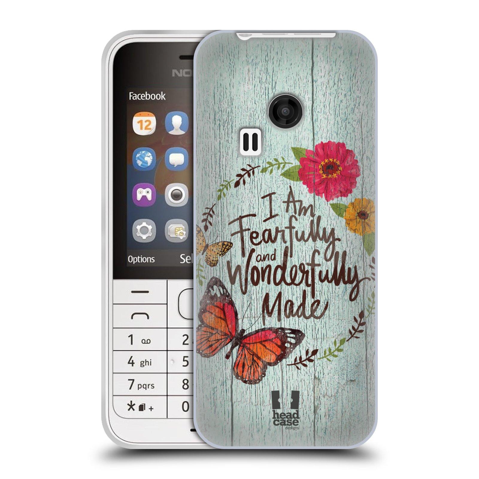 Silikonové pouzdro na mobil Nokia 220 HEAD CASE LIFE IN THE COUNTRY WONDERFULLY