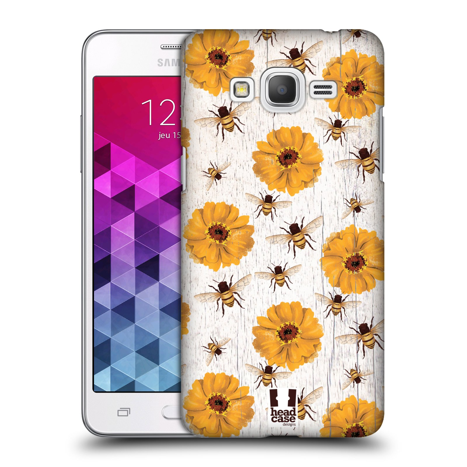 Plastové pouzdro na mobil Samsung Galaxy Grand Prime VE HEAD CASE LIFE IN THE COUNTRY ZINNIAS