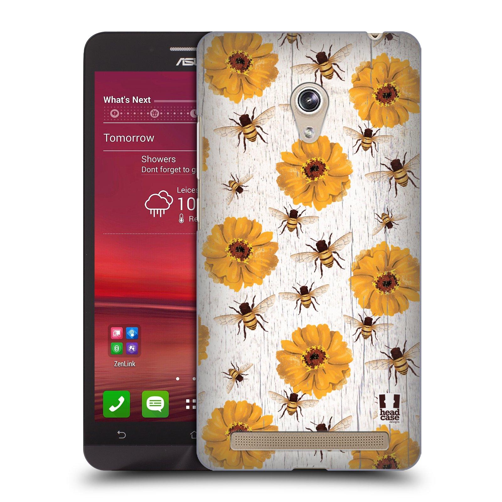Plastové pouzdro na mobil Asus Zenfone 6 HEAD CASE LIFE IN THE COUNTRY ZINNIAS (Kryt či obal na mobilní telefon Asus Zenfone 6 A600CG / A601CG)