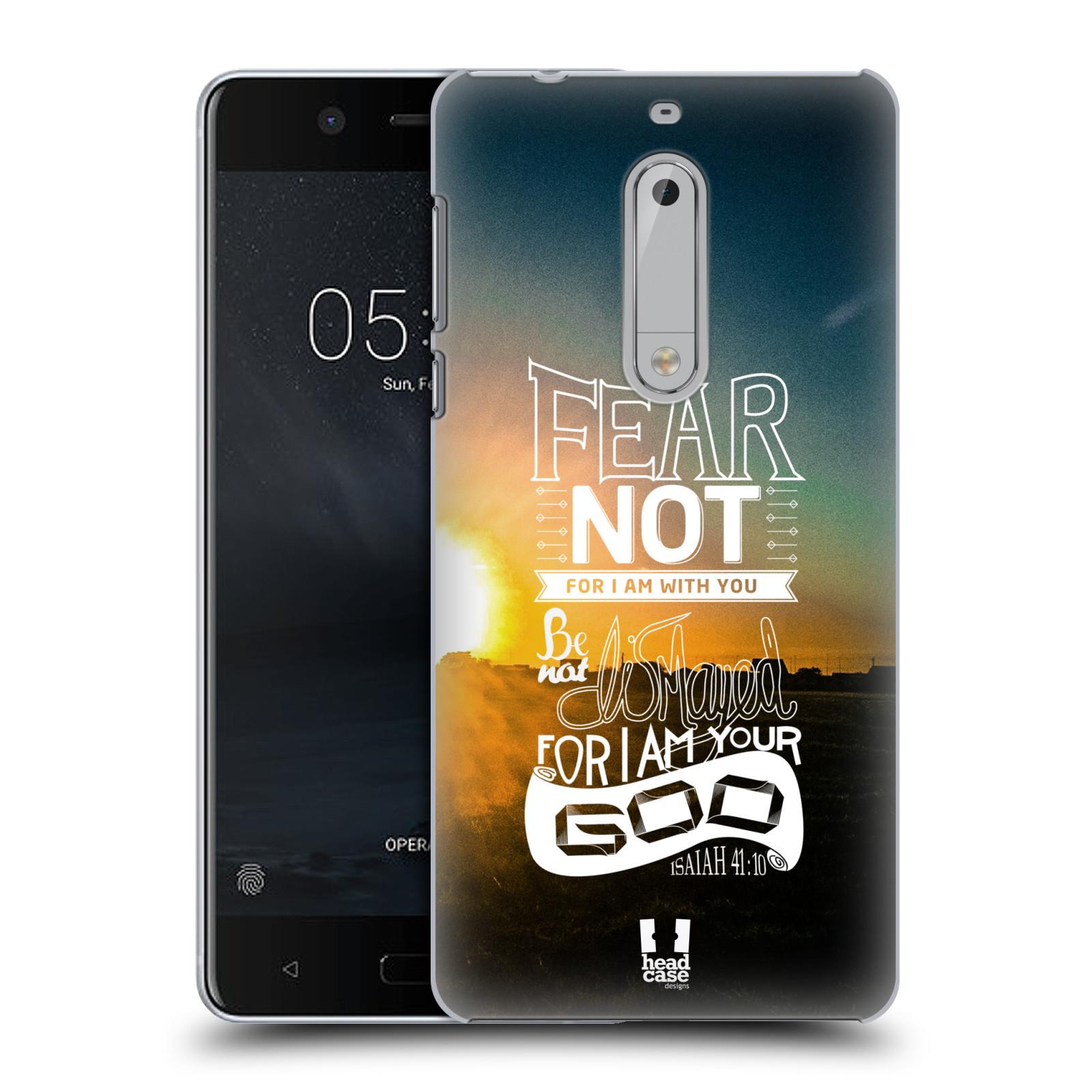 Plastové pouzdro na mobil Nokia 5 Head Case - FEAR (Plastový kryt či obal na mobilní telefon Nokia 5 (2017))