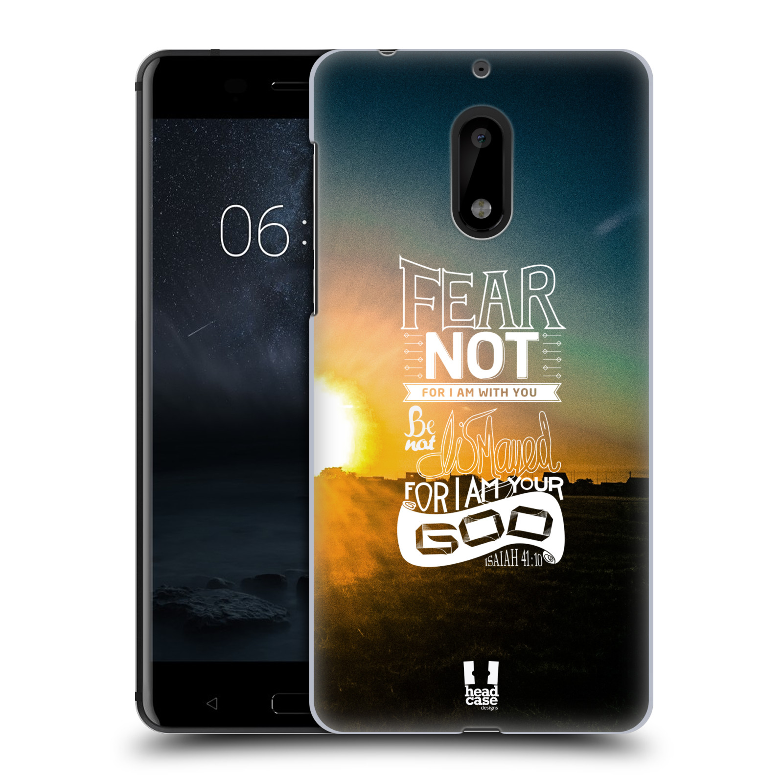Plastové pouzdro na mobil Nokia 6 - Head Case FEAR (Plastový kryt či obal na mobilní telefon Nokia 6 (Dual SIM))