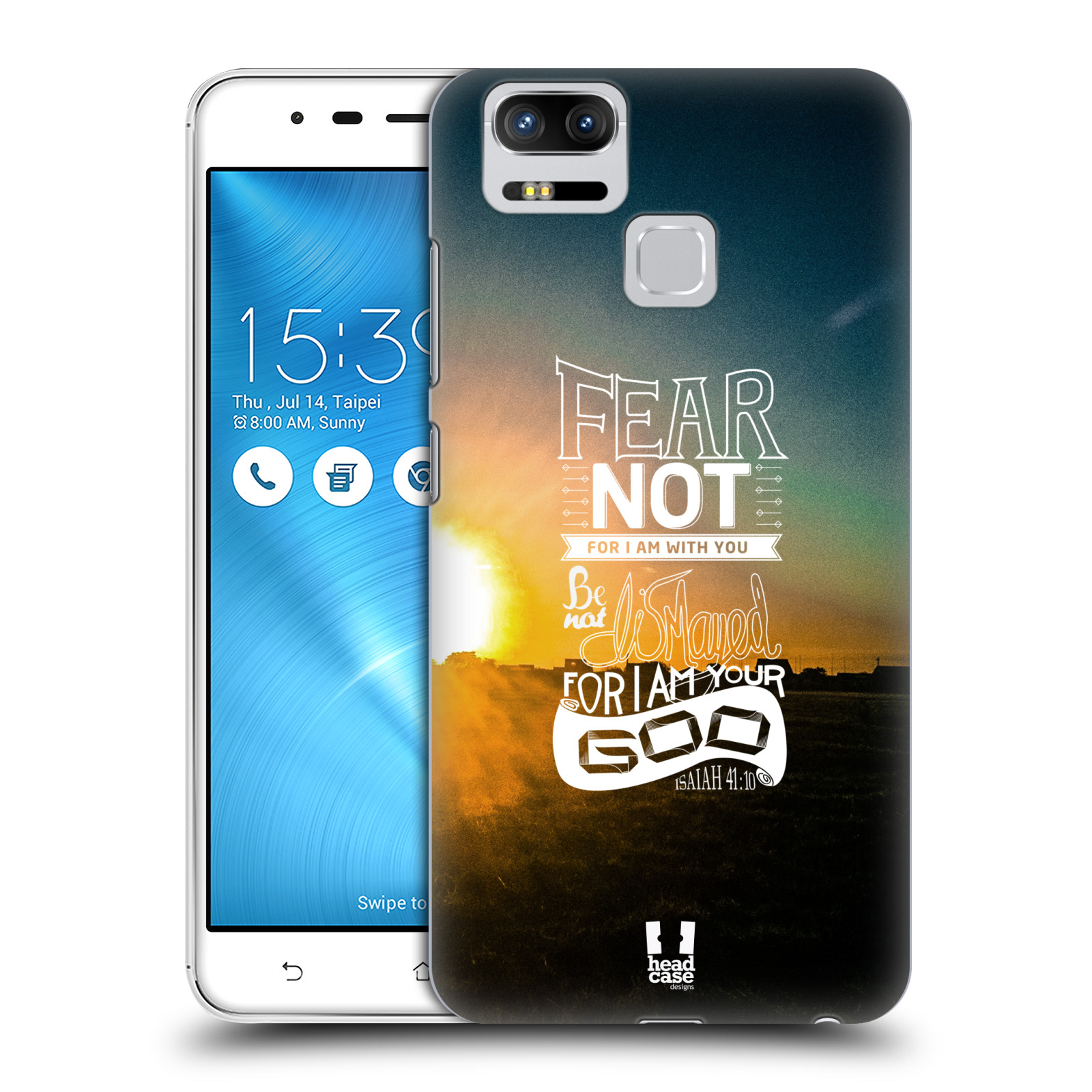 Plastové pouzdro na mobil Asus ZenFone 3 ZOOM ZE553KL - Head Case - FEAR (Plastový kryt či obal na mobilní telefon Asus ZenFone 3 ZOOM ZE553KL s motivem FEAR)