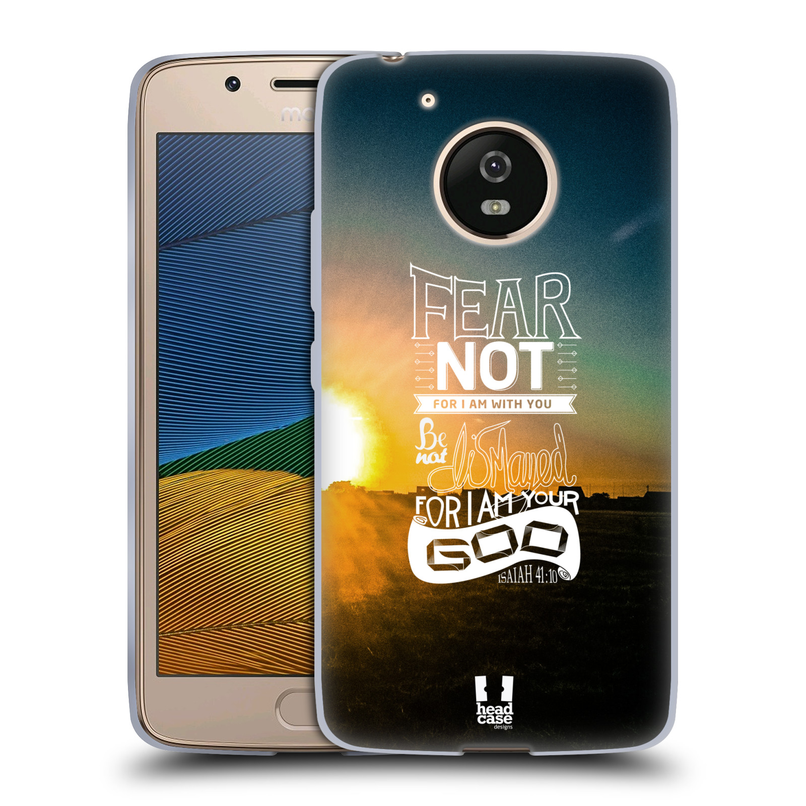 Silikonové pouzdro na mobil Lenovo Moto G5 - Head Case FEAR (Silikonový kryt či obal na mobilní telefon Lenovo Moto G5)