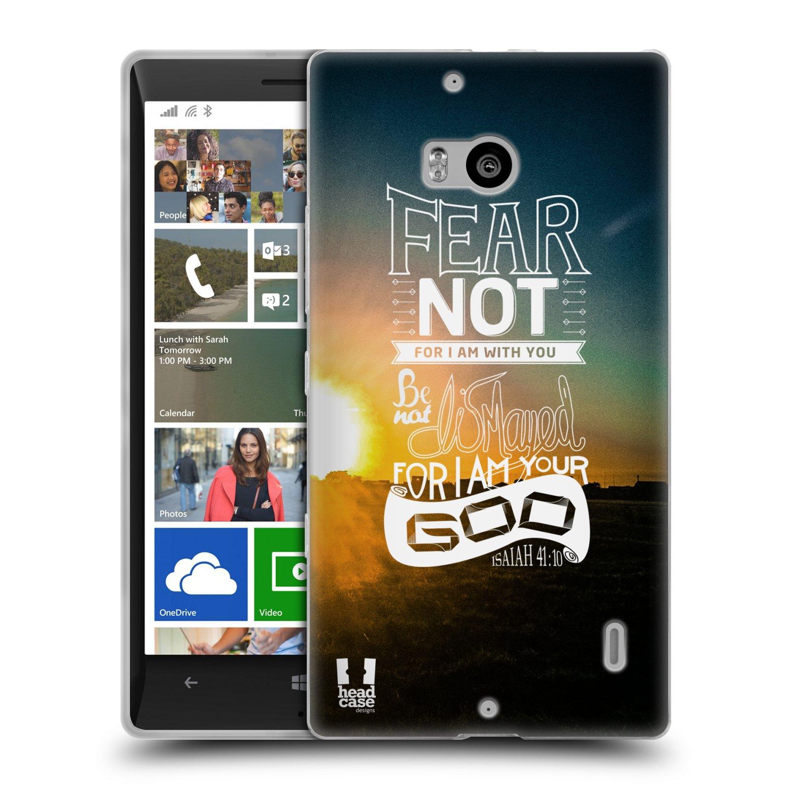 Silikonové pouzdro na mobil Nokia Lumia 930 HEAD CASE FEAR (Silikonový kryt či obal na mobilní telefon Nokia Lumia 930)