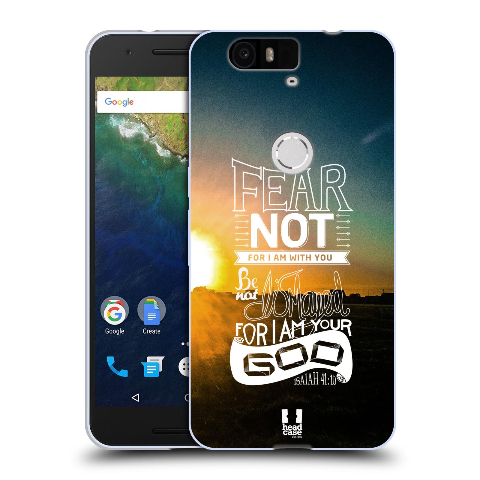 Silikonové pouzdro na mobil Huawei Nexus 6P HEAD CASE FEAR (Silikonový kryt či obal na mobilní telefon Huawei Nexus 6P)