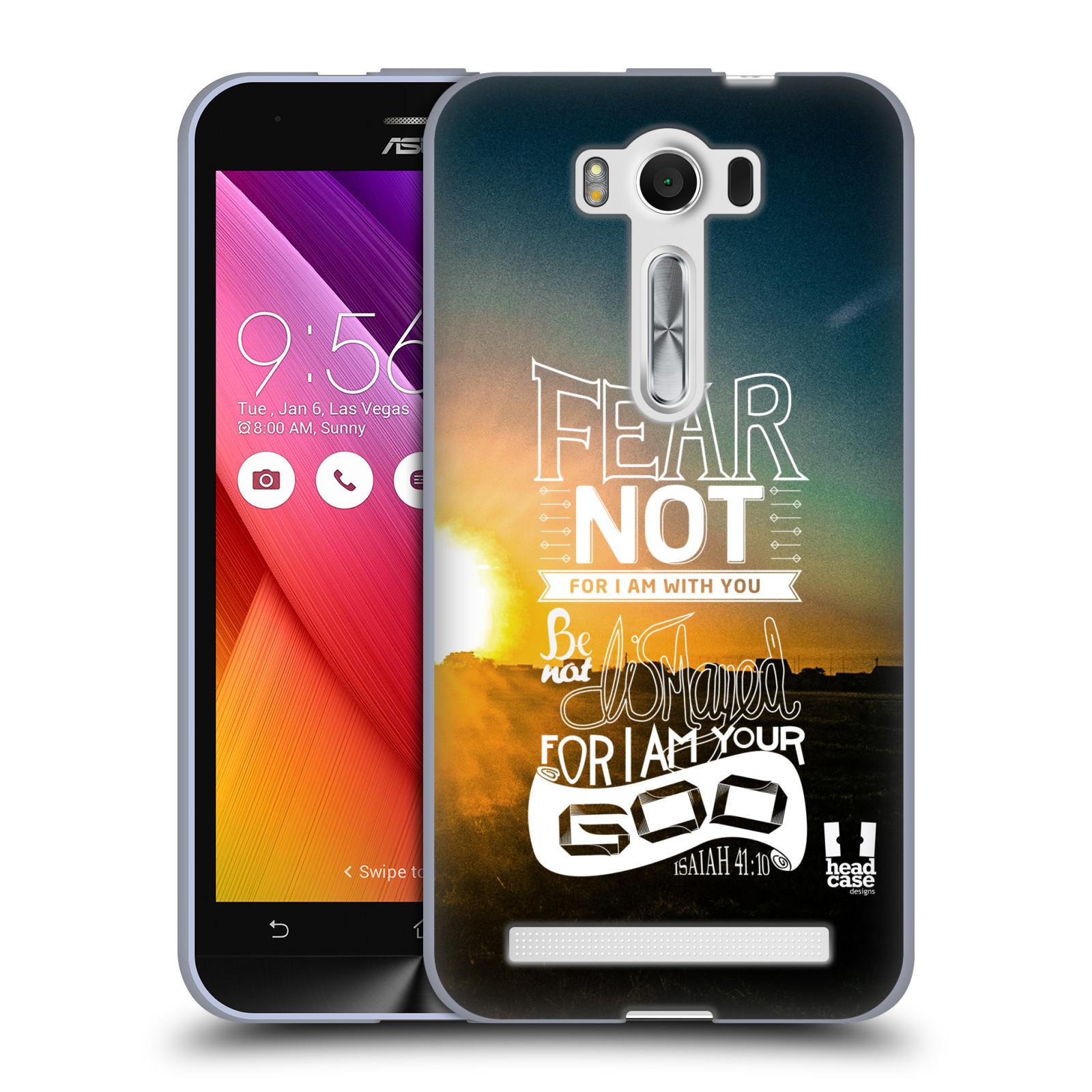 """Silikonové pouzdro na mobil Asus ZenFone 2 Laser ZE500KL HEAD CASE FEAR (Silikonový kryt či obal na mobilní telefon Asus ZenFone 2 Laser ZE500KL s 5"""" displejem)"""