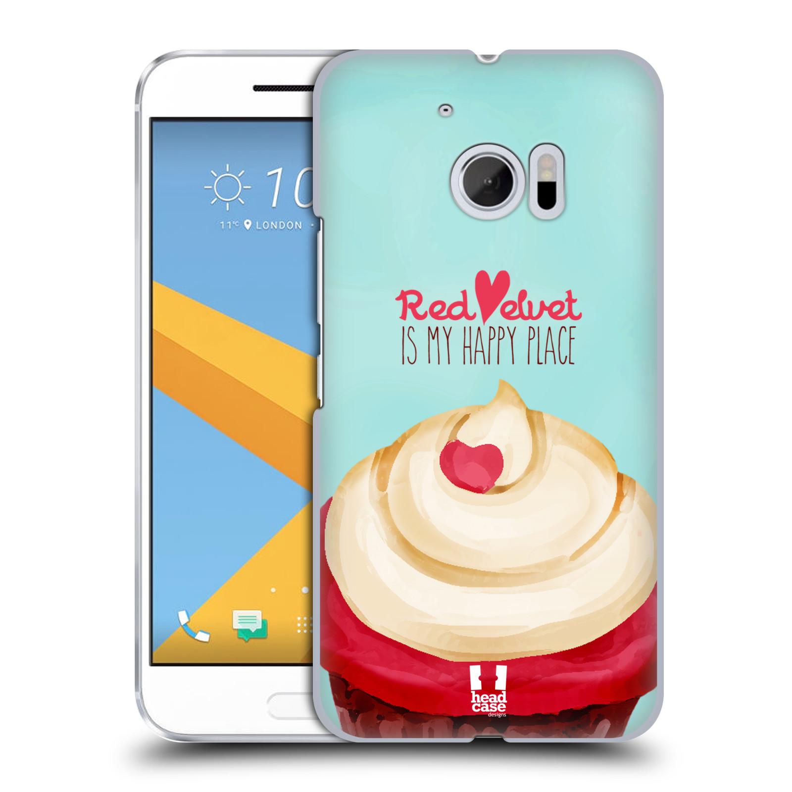 Plastové pouzdro na mobil HTC One 10 - Head Case - CUPCAKE RED VELVET (Plastový kryt či obal na mobilní telefon HTC One 10 (M10))