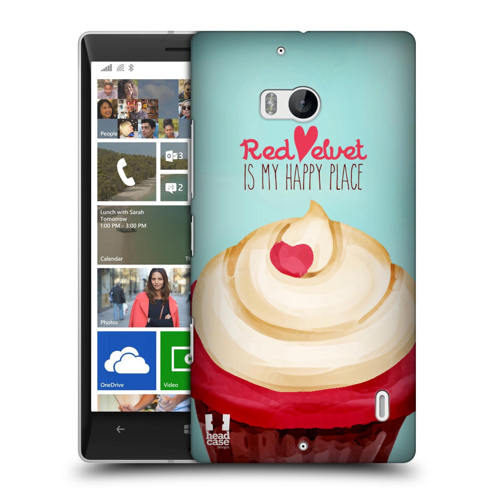 Plastové pouzdro na mobil Nokia Lumia 930 HEAD CASE CUPCAKE RED VELVET (Kryt či obal na mobilní telefon Nokia Lumia 930)