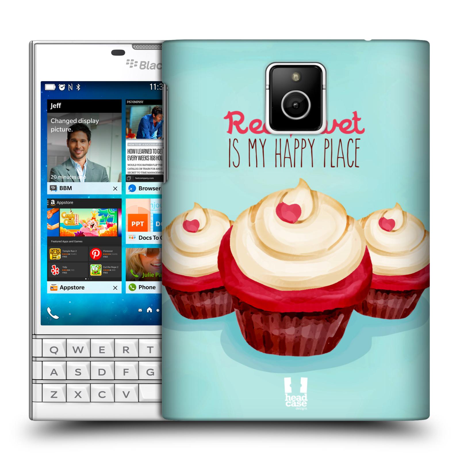 Plastové pouzdro na mobil Blackberry PASSPORT HEAD CASE CUPCAKE RED VELVET (Kryt či obal na mobilní telefon Blackberry PASSPORT)