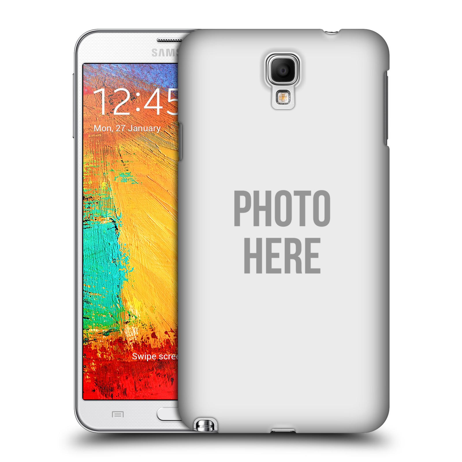 Plastové pouzdro na mobil Samsung Galaxy Note 3 Neo HEAD CASE s vlastním motivem (Kryt či obal s vlastní fotografií na mobilní telefon Samsung Galaxy Note 3 Neo SM-N7505)