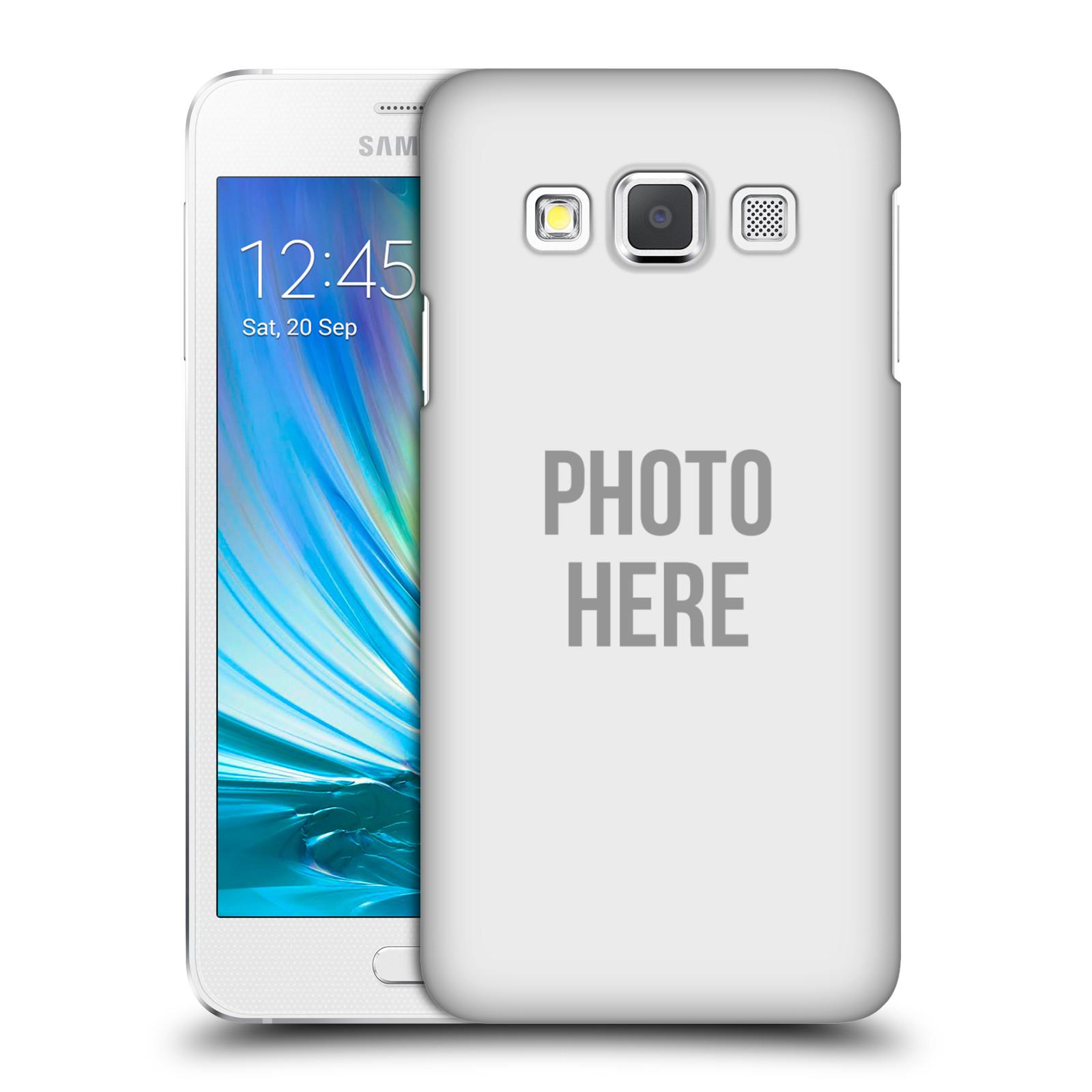 Plastové pouzdro na mobil Samsung Galaxy A3 HEAD CASE s vlastním motivem