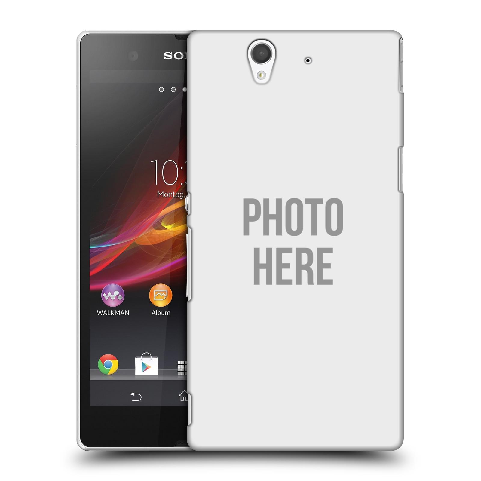 Plastové pouzdro na mobil Sony Xperia Z C6603 HEAD CASE s vlastním motivem (Kryt či obal s vlastní fotografií na mobilní telefon Sony Xperia Z)