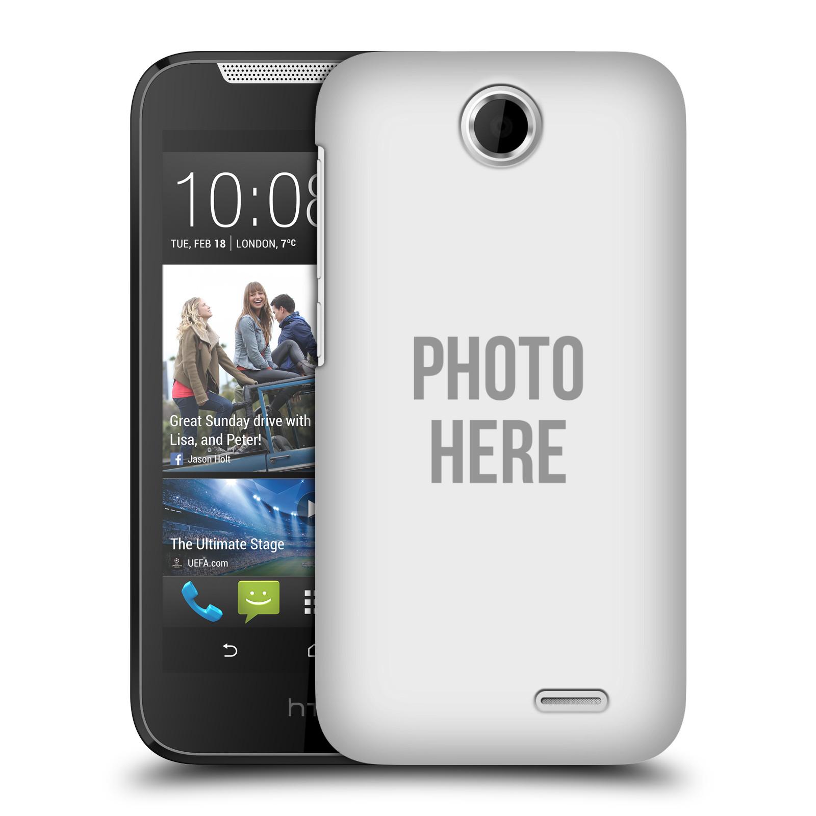 Plastové pouzdro na mobil HTC Desire 310 HEAD CASE s vlastním motivem (Kryt či obal s vlastní fotografií na mobilní telefon HTC Desire 310)