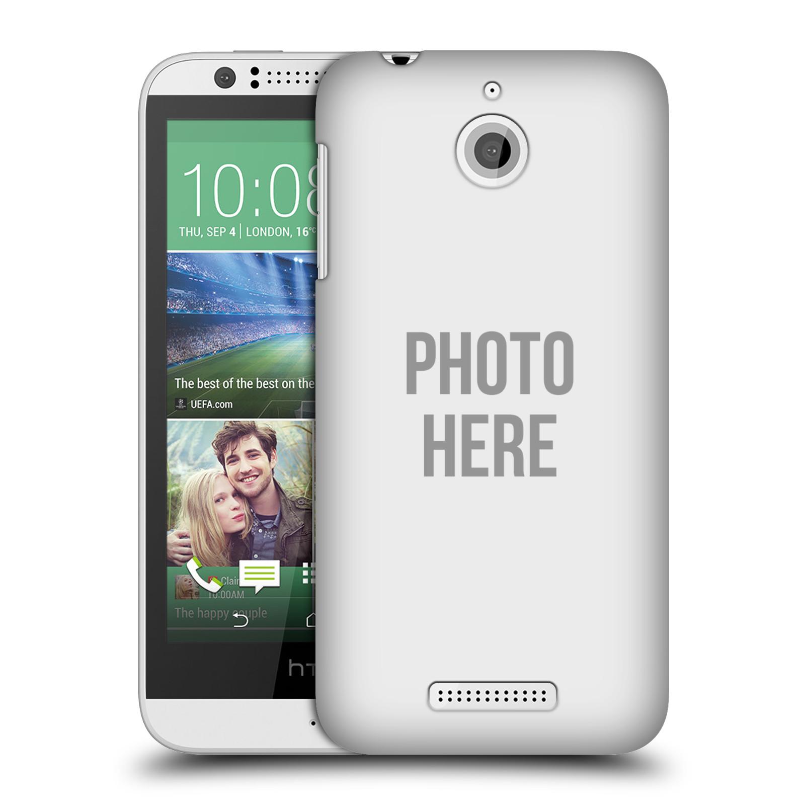 Plastové pouzdro na mobil HTC Desire 510 HEAD CASE s vlastním motivem