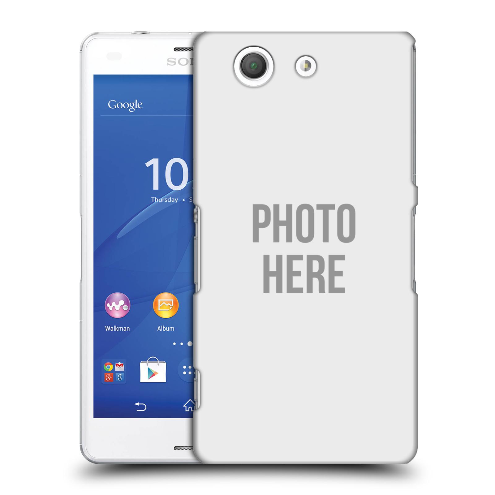 Plastové pouzdro na mobil Sony Xperia Z3 Compact D5803 HEAD CASE s vlastním motivem