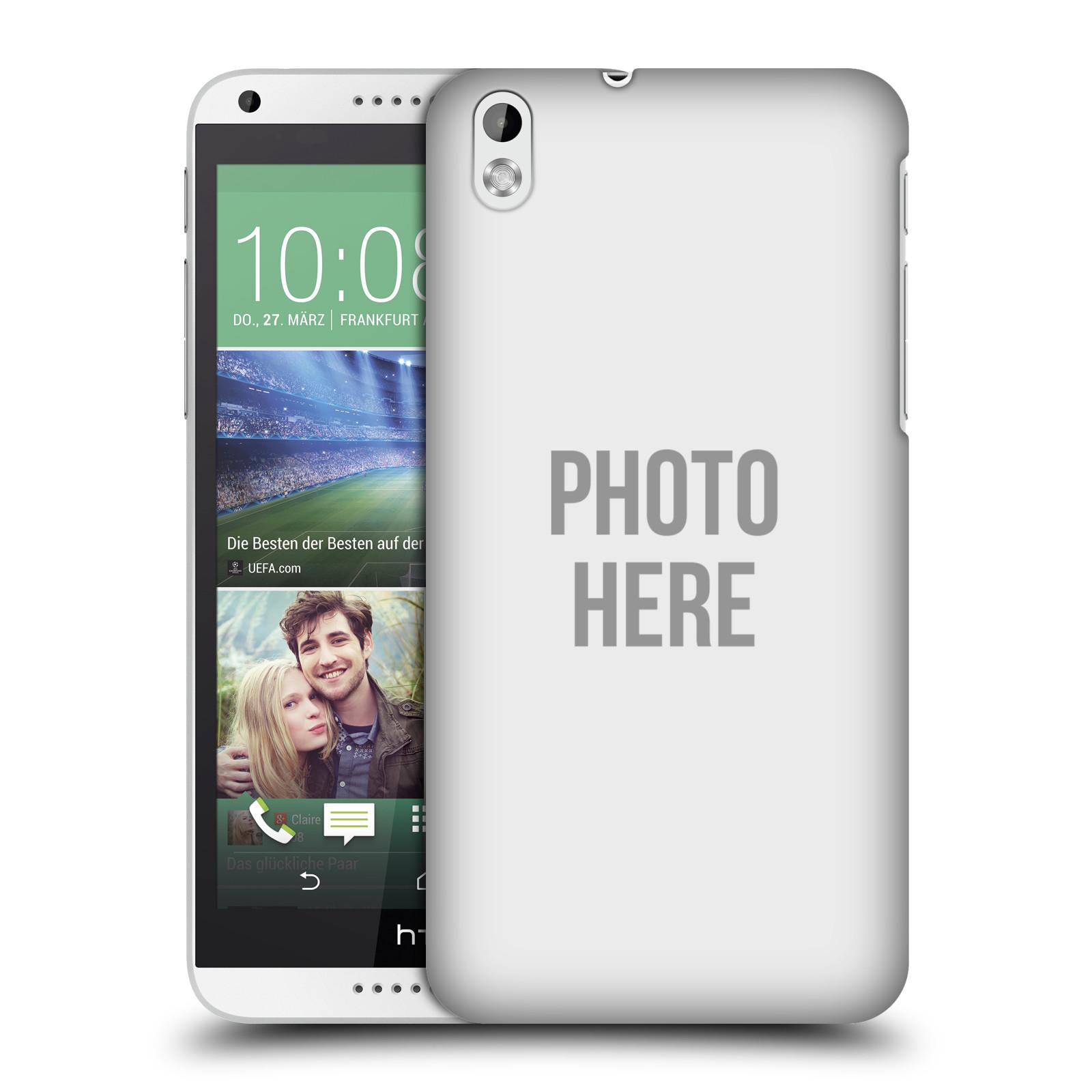 Plastové pouzdro na mobil HTC Desire 816 HEAD CASE s vlastním motivem (Kryt či obal s vlastní fotografií na mobilní telefon HTC Desire 816)