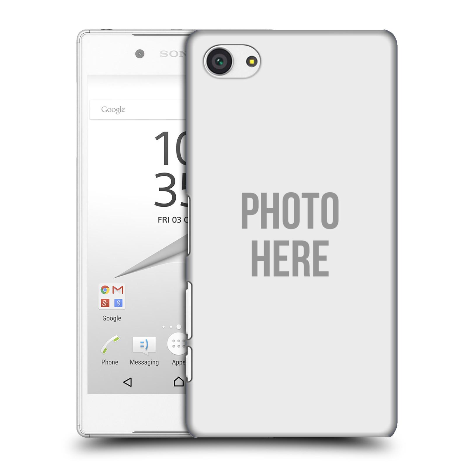 Plastové pouzdro na mobil Sony Xperia Z5 Compact HEAD CASE s vlastním motivem