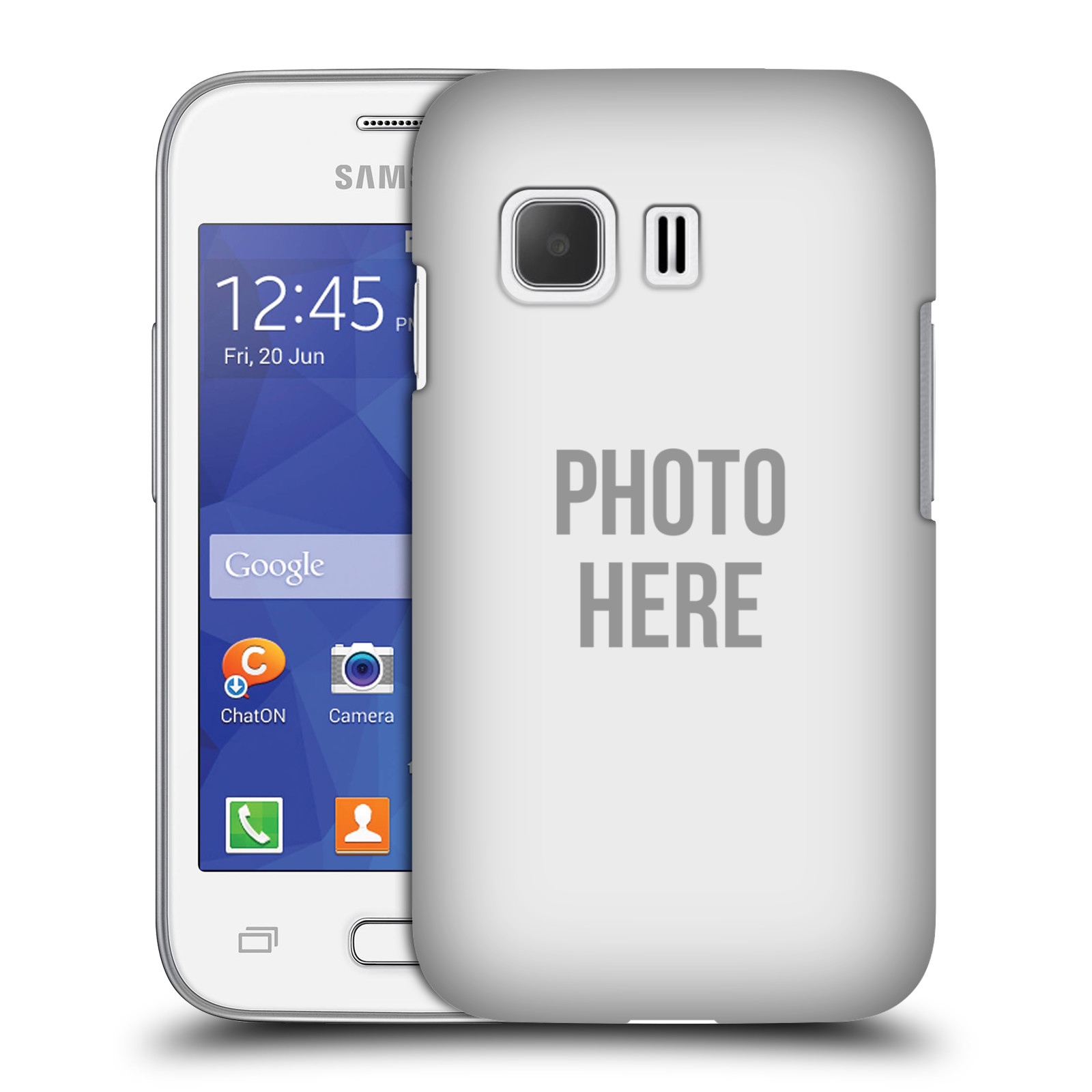 Plastové pouzdro na mobil Samsung Galaxy Young 2 HEAD CASE s vlastním motivem