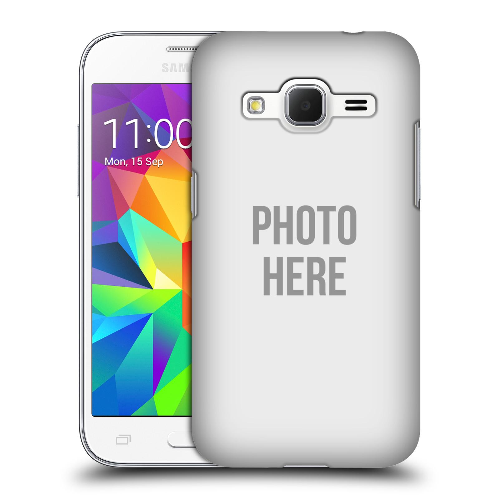 Plastové pouzdro na mobil Samsung Galaxy Core Prime VE HEAD CASE s vlastním motivem