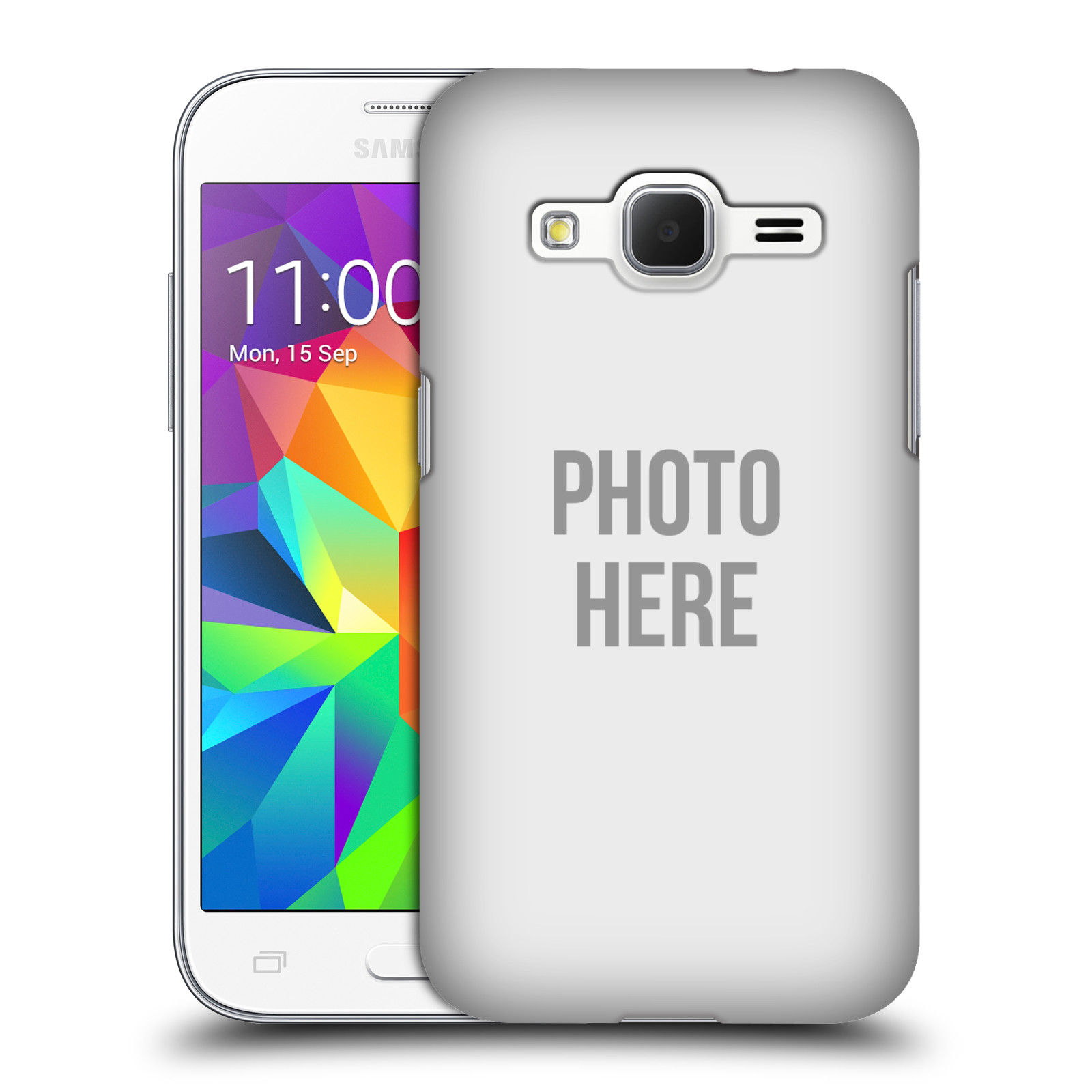 Plastové pouzdro na mobil Samsung Galaxy Core Prime LTE HEAD CASE s vlastním motivem