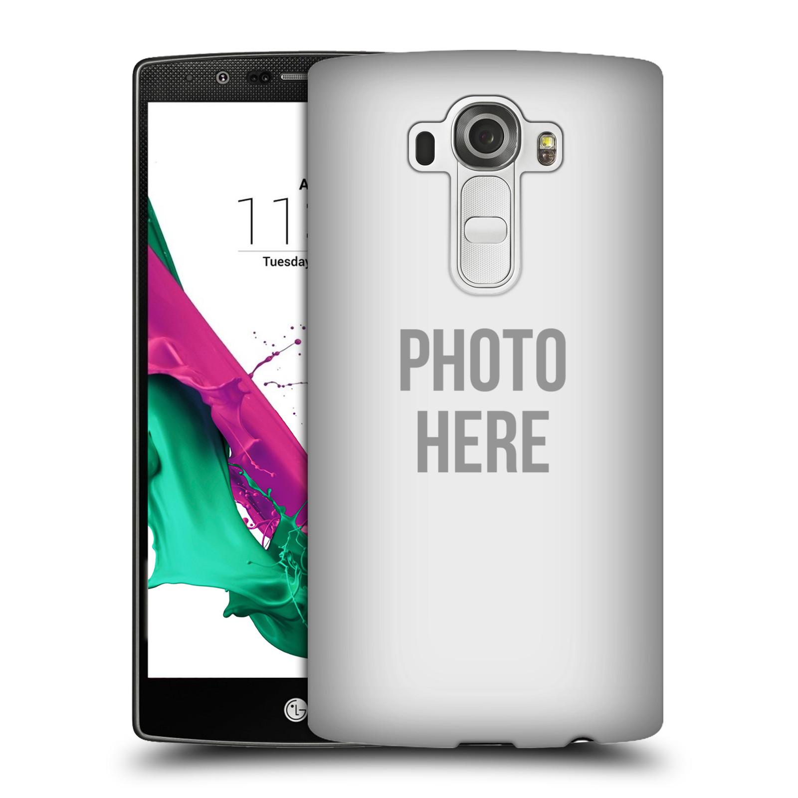 Plastové pouzdro na mobil LG G4 HEAD CASE s vlastním motivem (Kryt či obal s vlastní fotografií na mobilní telefon LG G4)