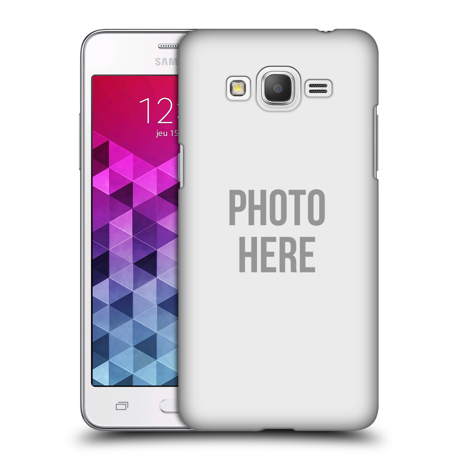 Plastové pouzdro na mobil Samsung Galaxy Grand Prime VE HEAD CASE s vlastním motivem